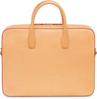 Mansur Gavriel Vegetable Tanned Briefcase - Cammello