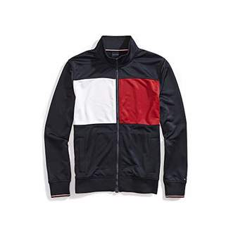 Tommy Hilfiger Adaptive Men's Track Jacket with Magnetic Zipper