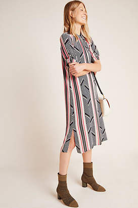 Anthropologie McKenzie Mock Neck Tunic Dress
