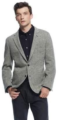 Todd Snyder Black Label Sutton Unconstructed Sport Coat in Wool Herringbone