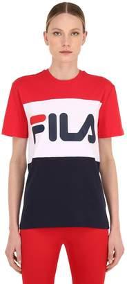 Fila Urban Day Logo Color Block Jersey T-Shirt
