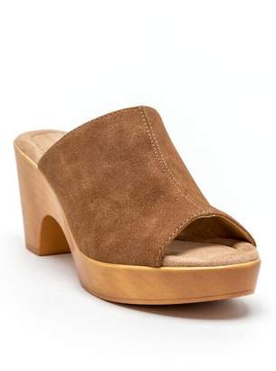 Cl By Laundry CL by Laundry Allison Peep Toe Clog - Brown