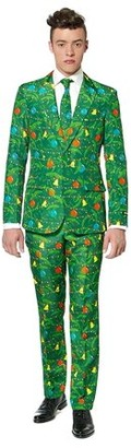 Suitmeister Green Christmas Tree Suit Men's Adult Halloween Costume