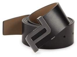 Porsche Design Icon 40 Leather Belt