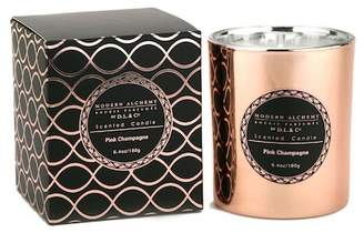 D.L. & Co. Alchemy by Electroplated Pink Champagne Candle