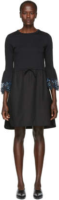 See by Chloe Black Detailed Cuff Dress