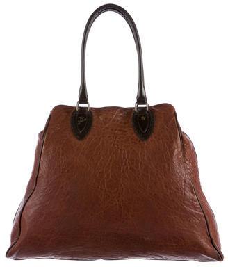 FendiFendi Bicolor Leather Tote
