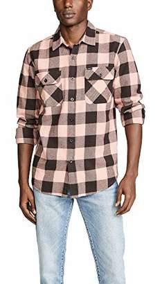 Obey Men's Vedder Flannel Woven Shirt