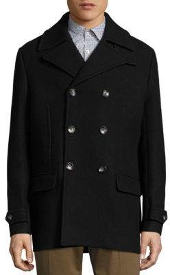 J. Lindeberg Wilton Double Breasted Peacoat