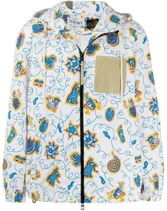 Loewe logo patch jacket