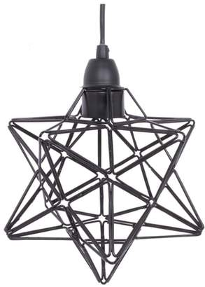 CRYSTAL ART GALLERY Star Caged Pendant Lamp