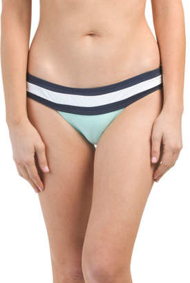 Made In Colombia Banded Color Block Swim Bottom