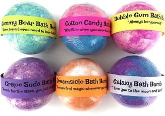 D.E.P.T Sky Organics Sweet Like Candy Bath Bombs Assorted Set With Toy
