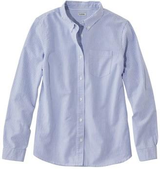 cecb72ec91476 L.L. Bean L.L.Bean Women s Lakewashed Organic Cotton Oxford Shirt