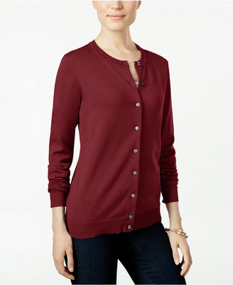 Karen Scott Cardigan, Only at Macy's $46.50 thestylecure.com