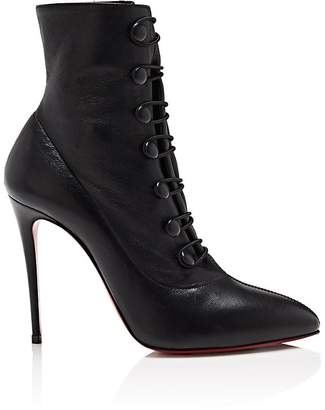 Christian Louboutin Women's French Tutu Leather Ankle Boots