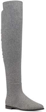 Nine West Eltynn Over-The-Knee Fabric Boots