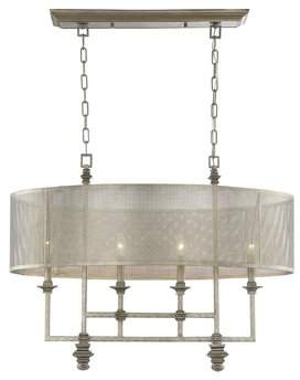 Laurèl Foundry Modern Farmhouse Freeburg 4-Light Drum Chandelier