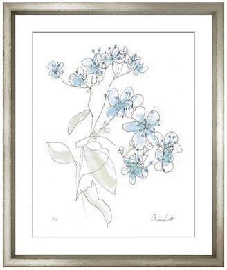 William Stafford Minnie Carter - Flowers Blue I Art