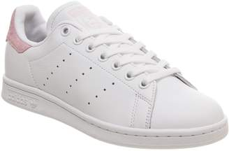 adidas Stan Smith Trainers White Clear Pink Copper Exclusive