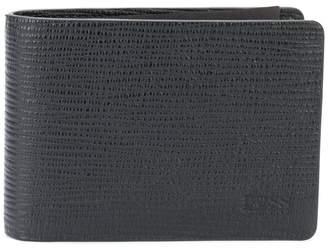 HUGO BOSS pebbled logo wallet