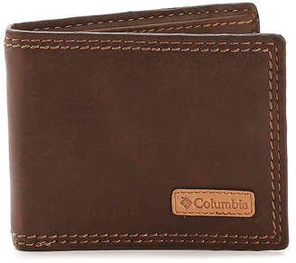 Columbia Security Leather Bifold Wallet - Men's
