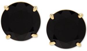 Honora Style Onyx (9mm) Stud Earrings in 14k Gold
