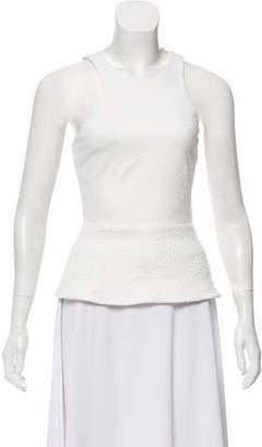 Bec & Bridge Textured Sleeveless Top