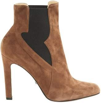 Paul Andrew Brown Suede Boots