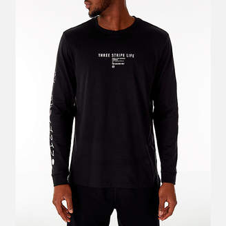 adidas Men's Athletics International Long Sleeve T-Shirt