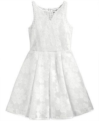 Nanette Lepore Floral Lace Dress, Big Girls (7-16) $98.50 thestylecure.com