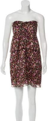 Vanessa Seward Silk Strapless Dress