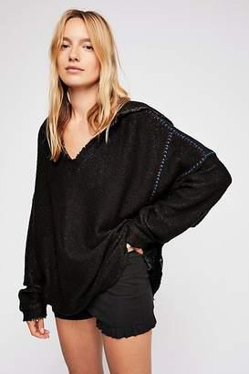 Textured V-Neck Pullover