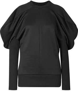 Marques Almeida Marques' Almeida - Ribbed Cotton-blend Sweatshirt - Black