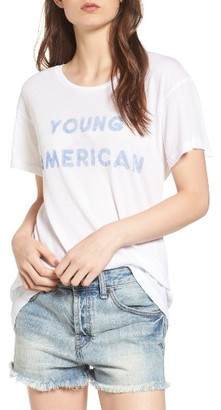 Women's Wildfox Young American Tee $68 thestylecure.com