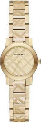 Burberry Women's Swiss Ion-Plated Stainless Steel Bracelet Watch 26mm BU9234