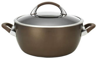 Circulon Symmetry 5.5-Quart Hard Anodized Casserole with Cover