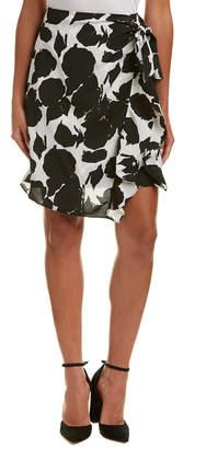 Derek Lam 10 Crosby Sarong Silk Mini Skirt