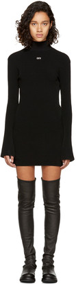 Off-White Black Sexy Angel Knit Dress $910 thestylecure.com