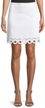 Club Monaco Akemi Scalloped Eyelet Skirt