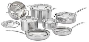 CuisinartTriple Ply Cookware Set (12 PC)