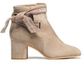 Rag & Bone Knotted Suede Ankle Boots