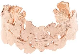 Aurelie Bidermann Ginkgo rose gold-plated small cuff
