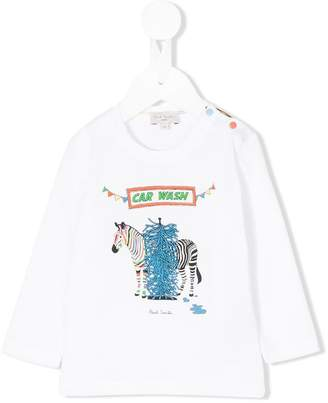 Paul Smith zebra print top