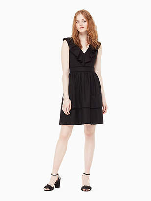 Kate Spade Ruffle neck dress