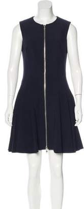 Alexander McQueen Wool-Blend Pleated Dress w/ Tags