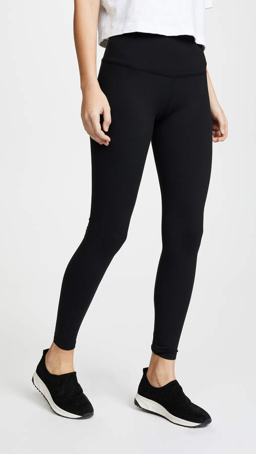 High Waist Long Leggings