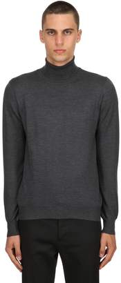 Tagliatore Turtleneck Wool Knit Sweater