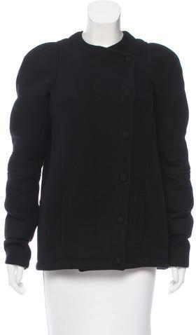 Balenciaga Balenciaga Wool Short Coat