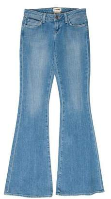 L'Agence Low-Rise Flare Jeans